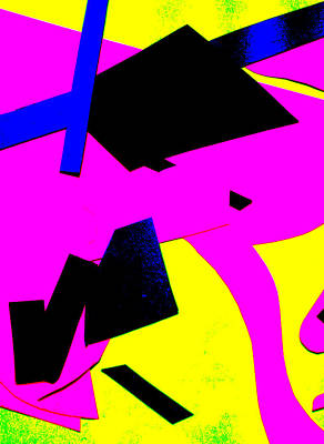 Digital Art - Vivid Abstract Art 29 by Artist Dot