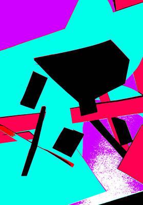 Digital Art - Vivid Abstract Art 33 by Artist Dot