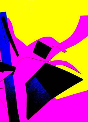 Digital Art - Vivid Abstract Art 35 by Artist Dot