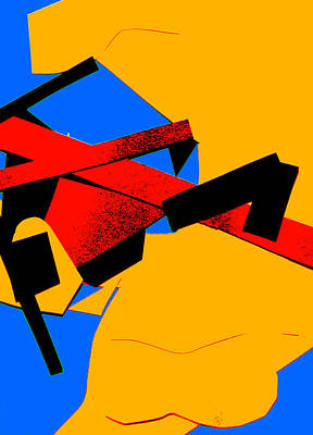 Digital Art - Vivid Abstract Art 36 by Artist Dot