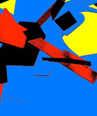 Digital Art - Vivid Abstract Art 39 by Artist Dot