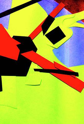 Digital Art - Vivid Abstract Art 41 by Artist Dot