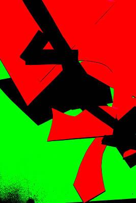 Digital Art - Vivid Abstract Art 42 by Artist Dot