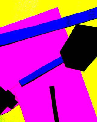 Digital Art - Vivid Abstract Art 43 by Artist Dot