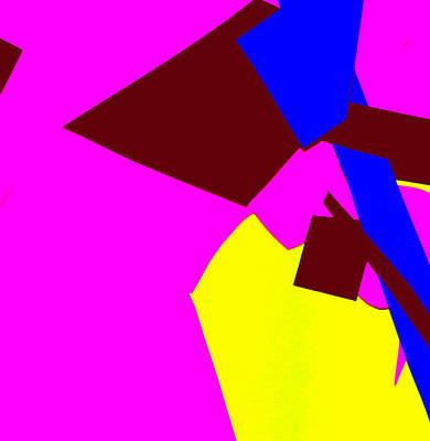Digital Art - Vivid Abstract Art 47 by Artist Dot