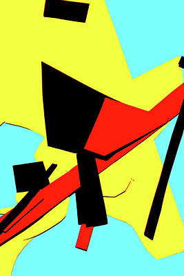 Digital Art - Vivid Abstract Art 49 by Artist Dot