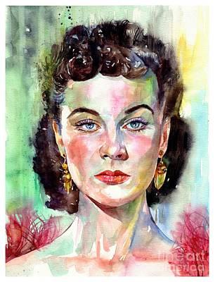 Vivien Leigh Portrait Original