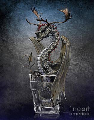 Digital Art - Vodka Dragon by Stanley Morrison