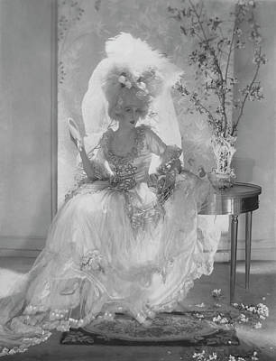 Photograph - Vogue 1920 by Adolph De Meyer
