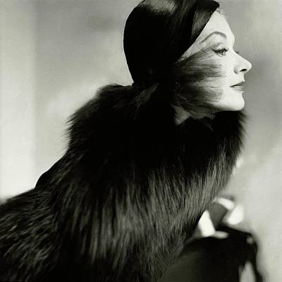 Photograph - Vogue 1951 by Frances Mclaughlin-gill