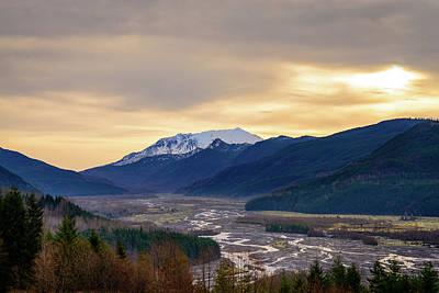 Photograph - Volcanic Creek by Michael Scott