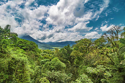 Arenal Photograph - Volcano In The Distance by Betsy Knapp