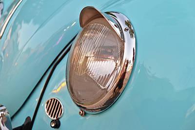 Photograph - Volkswagen Beetle Front Light by Angelo DeVal