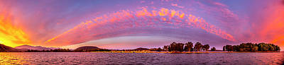 Keith Richards - Vonitsa Sunrise Panorama by Mark Harpur