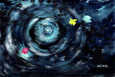 Painting - Vortex 1 by Anil Nene