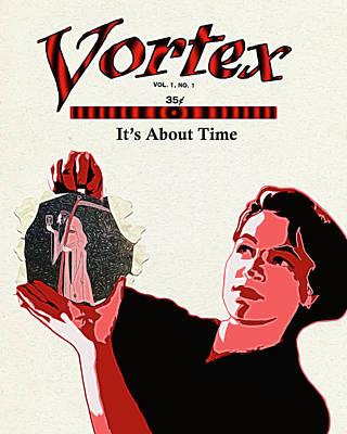 Digital Art - Vortex by John Haldane