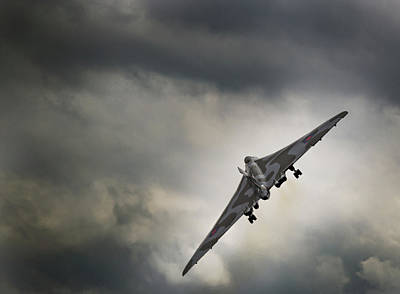 Photograph - Vulcan Against A Dark Sky by Scott Lyons