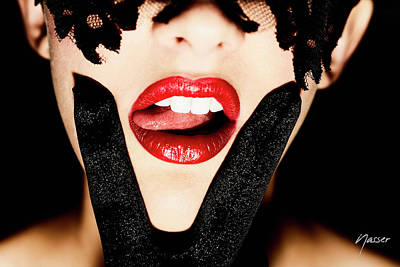 Vx Red Lips Pink Tongue - Surxposed Original