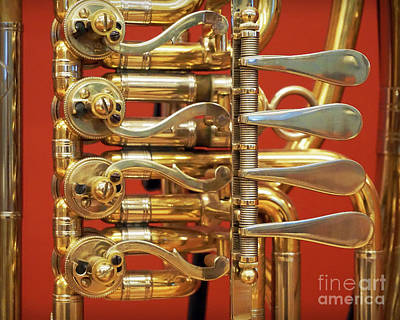 Photograph - Wagner Tuba by Martin Konopacki