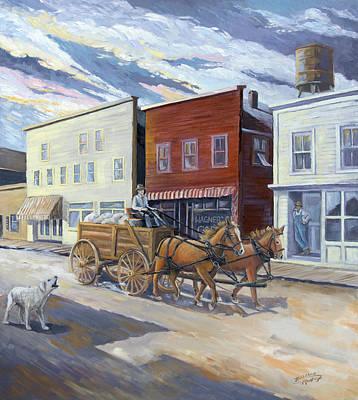 Painting - Wagoner by Paula McHugh