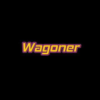 Digital Art Royalty Free Images - Wagoner #Wagoner Royalty-Free Image by TintoDesigns