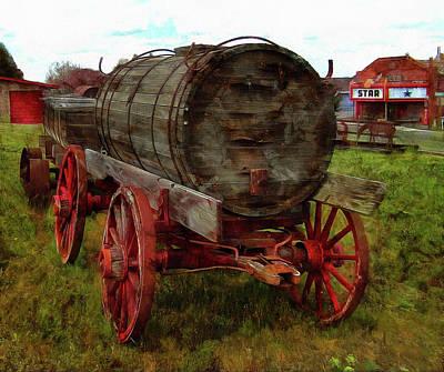 Photograph - Wagons West by Thom Zehrfeld