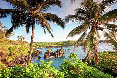 Hawaii Wall Art - Photograph - Wainapanapa, Maui, Hawaii by M.m. Sweet
