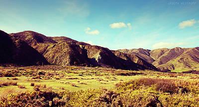 Photograph - Wainui Hills by Joseph Westrupp