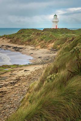 Photograph - Waipapa Point And Lighthouse New Zealand by Joan Carroll