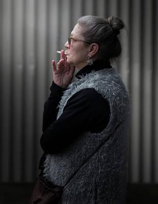 Photograph - Waiting by Juan Contreras