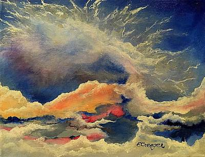 Painting - Wake. Up. Now. by Esperanza J Creeger