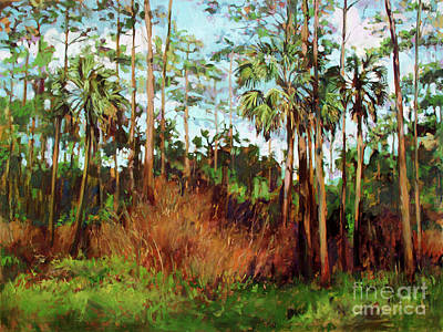 Painting - Wakulla Beach by Blair Updike