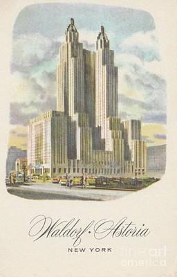 Photograph - Waldorf Astoria by Flavia Westerwelle