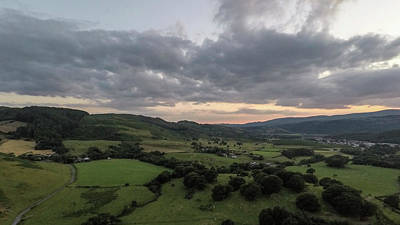 Photograph - Walesh Landscape By Drone  by John McGraw