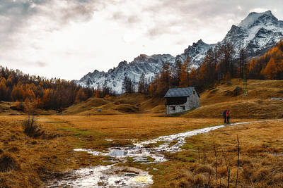 Photograph - Waling At Alpe Devero by Roberto Pagani