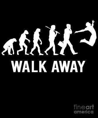 Digital Art - Walk Away Democrat To Freedom by Flippin Sweet Gear