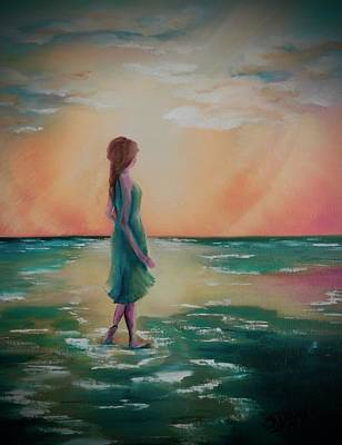 Painting - Walk Through Water by Sandra Day