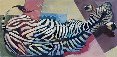 Painting - Walking by GALA Koleva