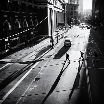 Photograph - Walking In The Sun by Photography By Jianwei Yang