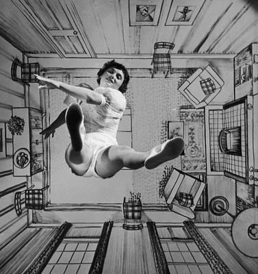 Photograph - Walking On Air by Charles Hewitt