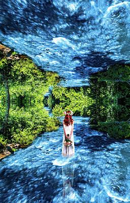 Photograph - Walking Through The Mirror by Jonny D