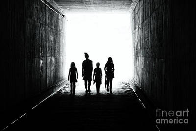 Photograph - Walking With Fellowship In The Light by Daniel Brinneman