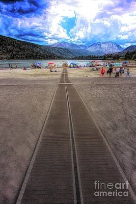 Digital Art - Walkway To June Lake by Joe Lach