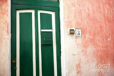 Photograph - Wall Colors Positano by John Rizzuto