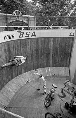 Photograph - Wall Of Death by Bert Hardy