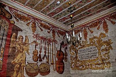 Photograph - Wall Paintings In Church In Gasawa Poland by Elzbieta Fazel