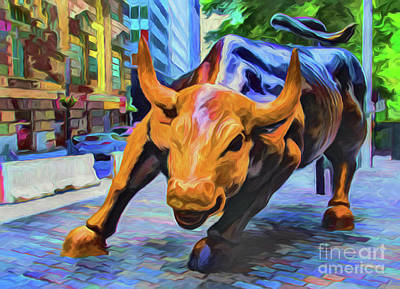Photograph - Wall Street A8-3 by Ray Shrewsberry