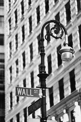Wall Street Art Print by Keystone