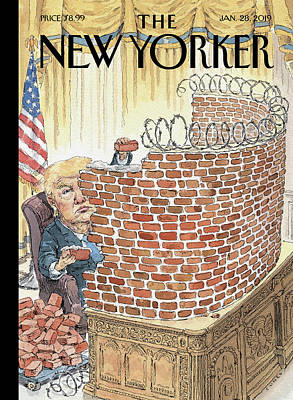 Painting - Walled In by John Cuneo
