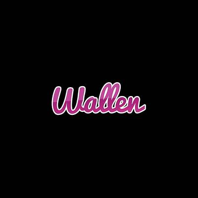 Digital Art Royalty Free Images - Wallen #Wallen Royalty-Free Image by TintoDesigns
